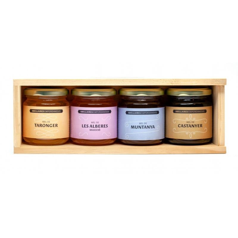 Pack 4 Varied Honeys 250g