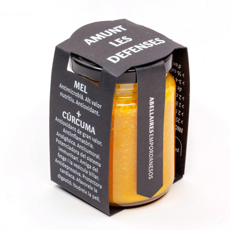 Miel Crema + Cúrcuma 125g