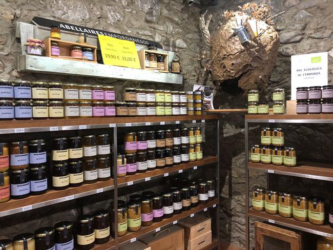 Botiga de mel ecològica i productes naturals